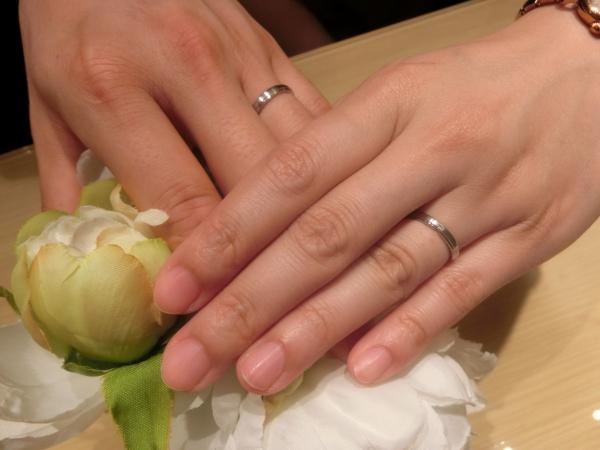 とても綺麗な指輪が届きました!