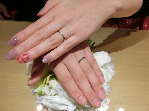 綺麗な指輪で嬉しかったです♡