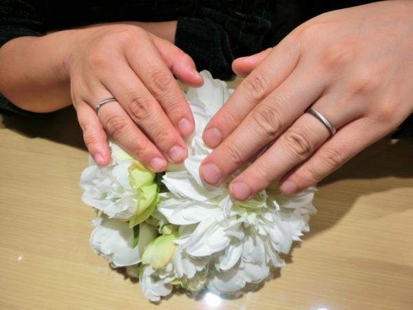 兵庫県姫路市:結婚指輪をご成約頂きました。ドイツブランドFISCHER