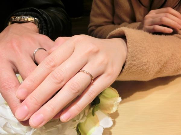 兵庫県 加東市&加西市 LIAIZONの結婚指輪を選んで頂きました。