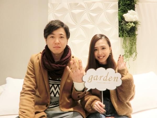 神戸市♪ AnkhoretoとPulitoの結婚指輪をご成約頂きました。