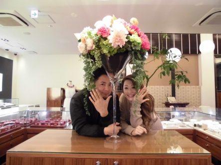 大阪府和泉市からお越し FISCHERの結婚指輪を♡