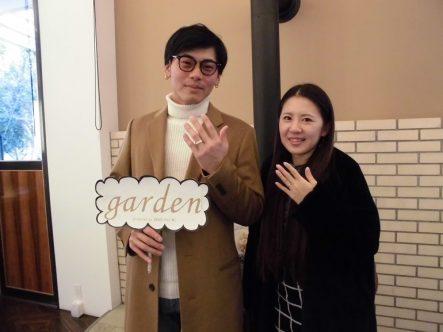 大阪 岸和田市で結婚指輪をご成約