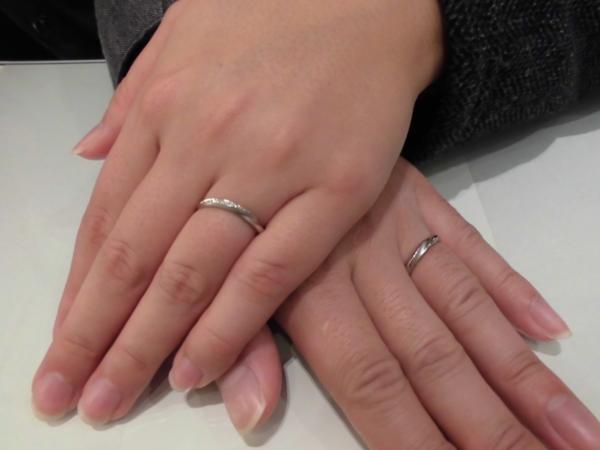 和歌山県 和歌山市 Mariageの結婚指輪