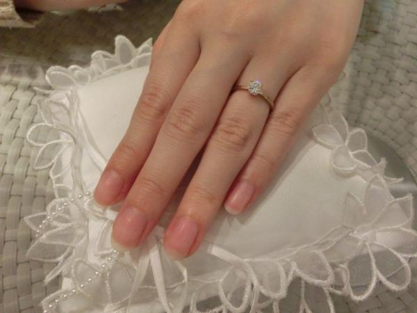 良い指輪に出会えて良かったです