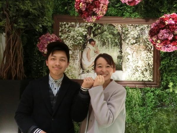 奈良県出身のお客様がご結婚指輪をご成約≪RoettE・CHER LUV≫