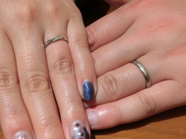 FISCHER・RosettEの結婚指輪をご成約