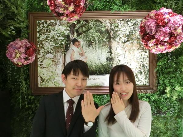 兵庫県高砂市&大阪狭山市 結婚指輪をご成約いただきました