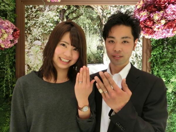 香芝市&貝塚市 結婚指輪をご成約頂きました
