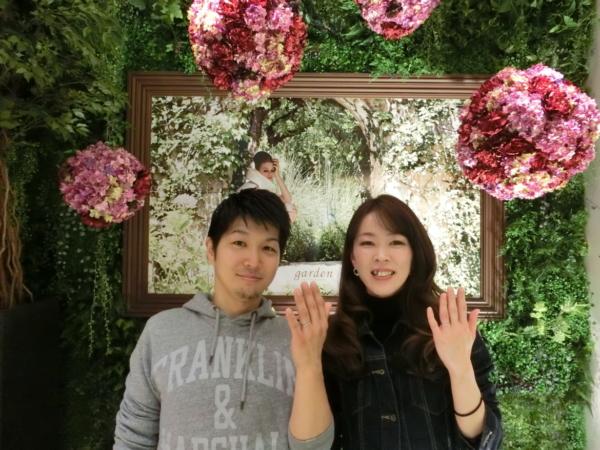 東大阪市 エトルのご結婚指輪