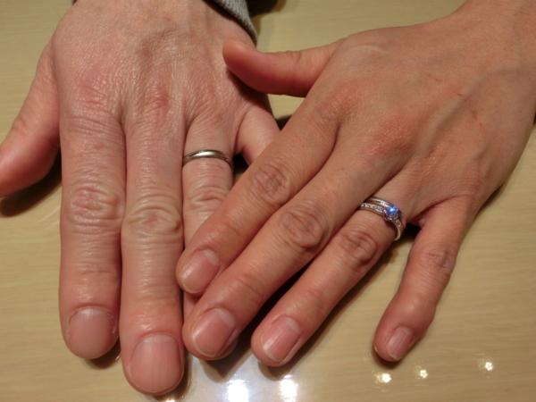 堺市&松原市 婚約指輪と結婚指輪をご成約頂きました