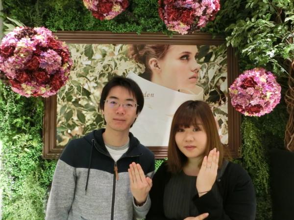 滋賀県 Milk&Strawberryの結婚指輪