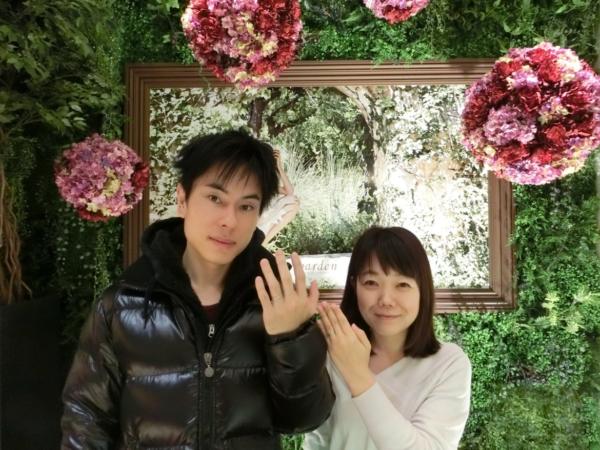 大阪市 Passage(パッサージュ)&いい夫婦の結婚指輪をご成約頂きました