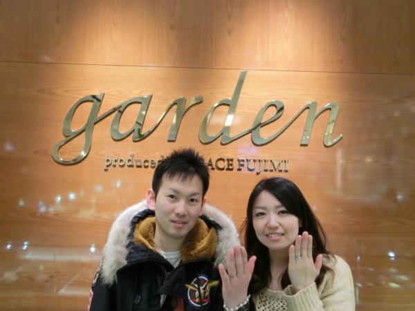 大阪市&北葛城郡 婚約指輪&結婚指輪をご成約いただきました
