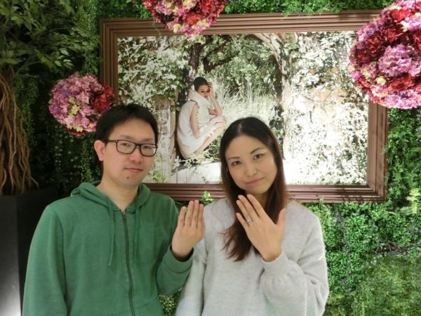 橿原市&大阪市 婚約指輪&結婚指輪をご成約頂きました
