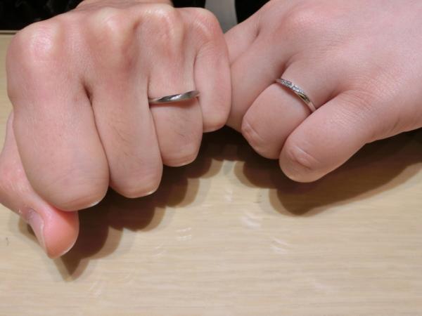 吹田市 et.lu(エトル)の結婚指輪