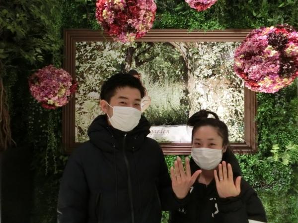 大阪市 結婚指輪をご納品致しました