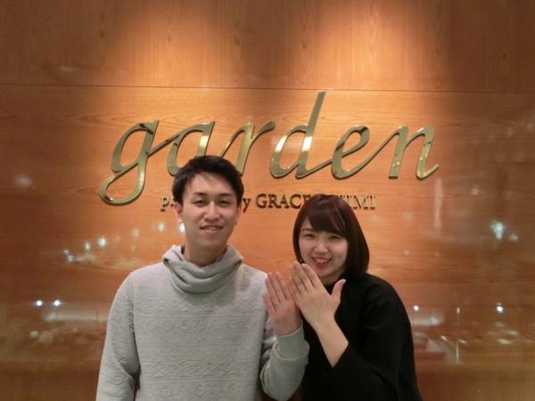 和歌山県 シンデレラの結婚指輪をご納品いたしました