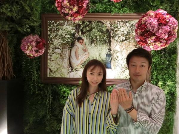 和歌山県 婚約指輪と結婚指輪をご成約頂きました