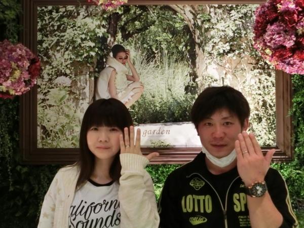 和歌山県 LAPAGE(ラパージュ)の婚約指輪とnocru(ノクル)の結婚指輪