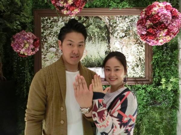 大阪市 FISCHER(フィッシャー)の結婚指輪をご納品いたしました