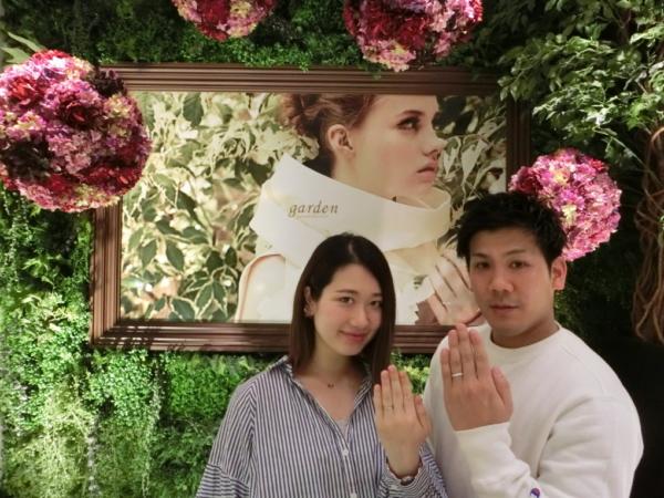 奈良県大和郡山市 リナモアの結婚指輪