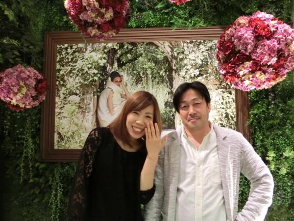 尼崎市&大阪市 gardenオリジナルの婚約指輪
