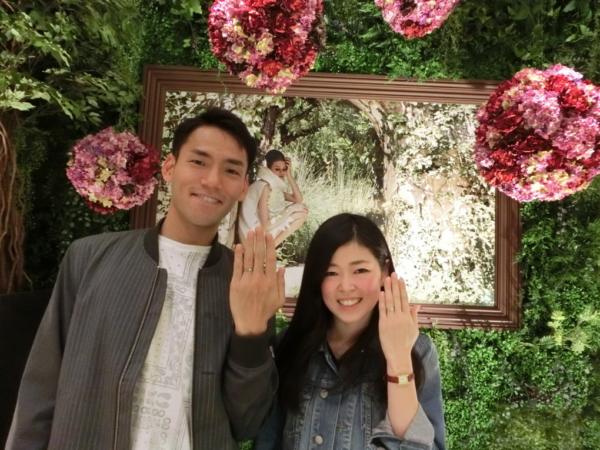 大阪市福島区 FISCHERの結婚指輪