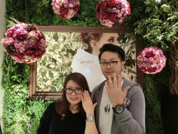 大阪市西区 LAPAGE、ORECCHIOの結婚指輪