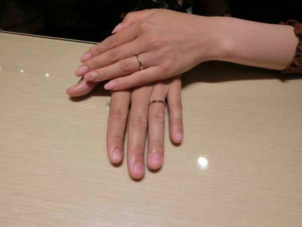 奈良県香芝市 RosettEの結婚指輪