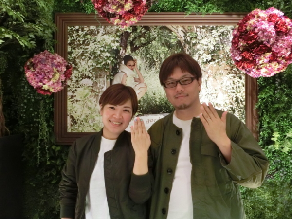 大阪市西区 RosettEの結婚指輪
