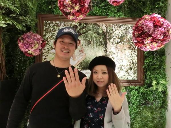 大阪市城東区 RosettE、Quand de Mariageの結婚指輪