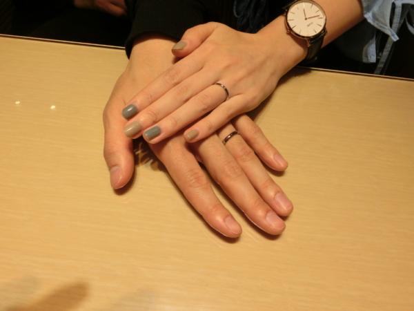 大阪市浪速区 FISCHERの結婚指輪