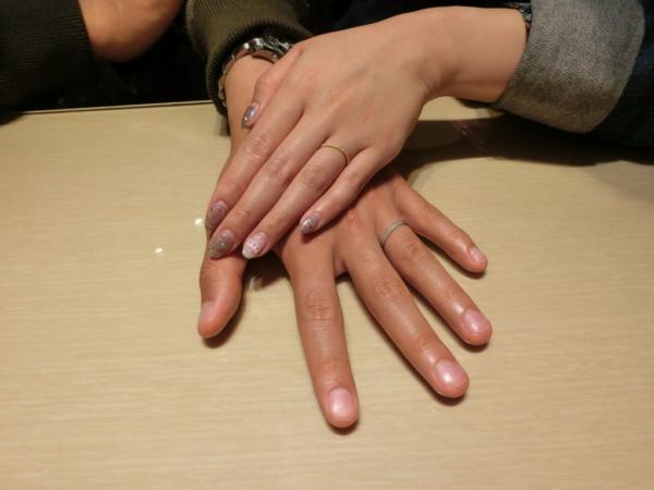 大阪市生野区 CHER LUVの結婚指輪