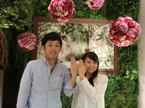 大阪府泉大津市 FISCHERの結婚指輪