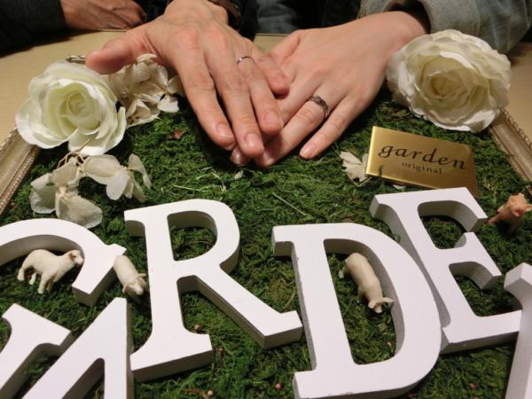 大阪府堺市西区 Rosette Daysの結婚指輪