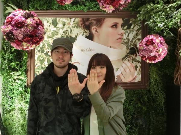 大阪府堺市 MAXIの結婚指輪