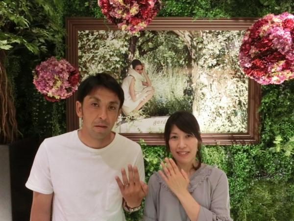 奈良市南登美ケ丘 Quand de Mariageの結婚指輪