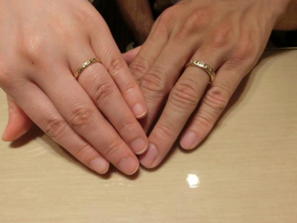 京都市南区 MAXIの結婚指輪