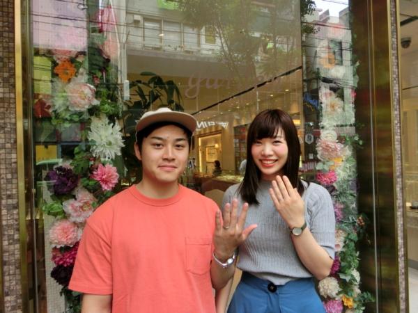 大阪市西区 et.luの結婚指輪