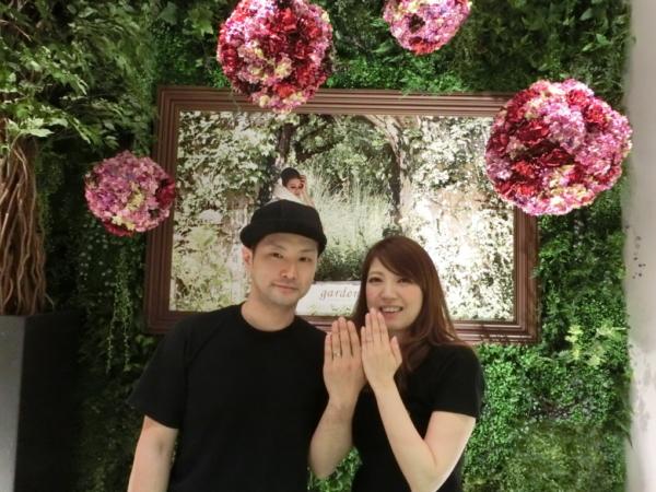 大阪市港区 Ofertaの結婚指輪