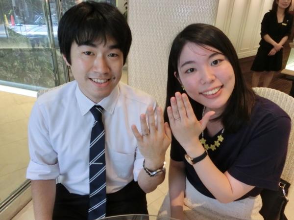 Quand de mariageの結婚指輪 大阪市東成区