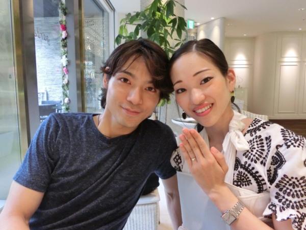AbHeriの婚約指輪とRosettEの結婚指輪 大阪市都島区