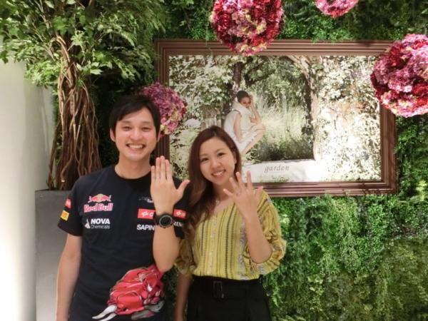 BAUMの結婚指輪 奈良県大和郡山市