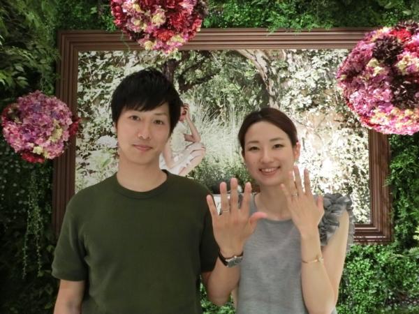 Milk&Strawberryの結婚指輪 奈良県奈良市山陵町