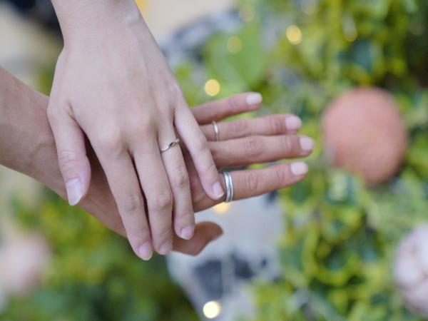 姫路市 ロゼットの結婚指輪をご成約頂きました。