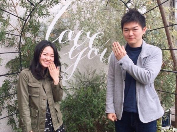 和歌山県和歌山市  RosettEの結婚指輪