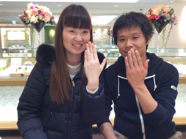 兵庫県  姫路市 Only YouとQuand de Mariageの結婚指輪