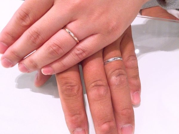 大阪府泉佐野市  PAVEO CHOCOLAT(パヴェオ・ショコラ) の結婚指輪