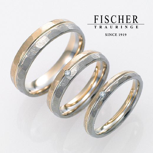 指輪のテイスト別の鍛造製法のイメージでフィッシャー